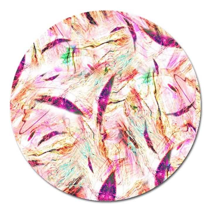 Grass Blades Magnet 5  (Round)