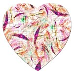 Grass Blades Jigsaw Puzzle (Heart) Front