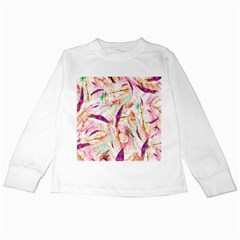 Grass Blades Kids Long Sleeve T-Shirts