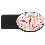 Grass Blades USB Flash Drive Oval (4 GB)  Front