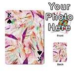 Grass Blades Playing Cards 54 Designs  Front - SpadeK