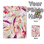 Grass Blades Playing Cards 54 Designs  Front - Heart6