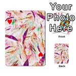 Grass Blades Playing Cards 54 Designs  Front - Heart7