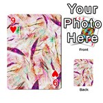 Grass Blades Playing Cards 54 Designs  Front - Heart9