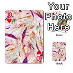 Grass Blades Playing Cards 54 Designs  Front - Heart10