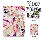Grass Blades Playing Cards 54 Designs  Front - Club5