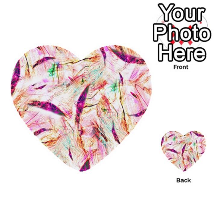 Grass Blades Multi-purpose Cards (Heart)