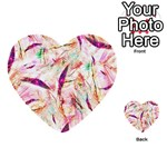 Grass Blades Multi-purpose Cards (Heart)  Front 45