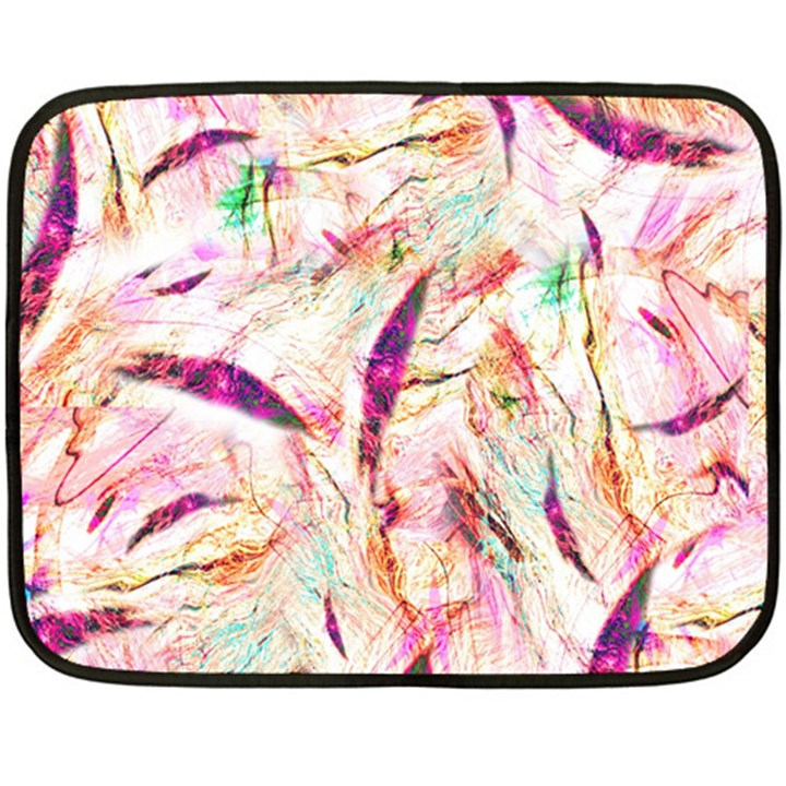 Grass Blades Fleece Blanket (Mini)