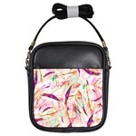 Grass Blades Girls Sling Bags Front