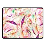 Grass Blades Fleece Blanket (Small) 50 x40 Blanket Front
