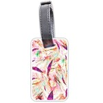 Grass Blades Luggage Tags (Two Sides) Back