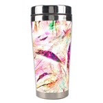 Grass Blades Stainless Steel Travel Tumblers Left