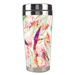 Grass Blades Stainless Steel Travel Tumblers Center