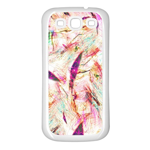 Grass Blades Samsung Galaxy S3 Back Case (White)