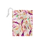 Grass Blades Drawstring Pouches (Small)  Back