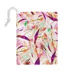 Grass Blades Drawstring Pouches (Large)  Back