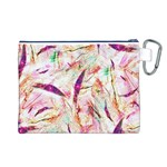 Grass Blades Canvas Cosmetic Bag (L) Back