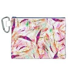 Grass Blades Canvas Cosmetic Bag (XL)