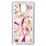 Grass Blades Samsung Galaxy Note 4 Case (White) Front