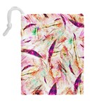 Grass Blades Drawstring Pouches (Extra Large) Back