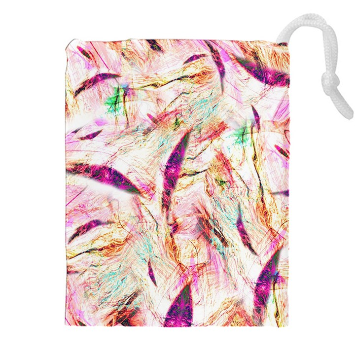 Grass Blades Drawstring Pouches (XXL)