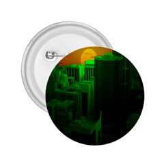 Green Building City Night 2.25  Buttons
