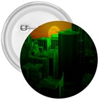 Green Building City Night 3  Buttons Front