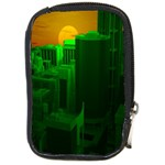 Green Building City Night Compact Camera Cases Front