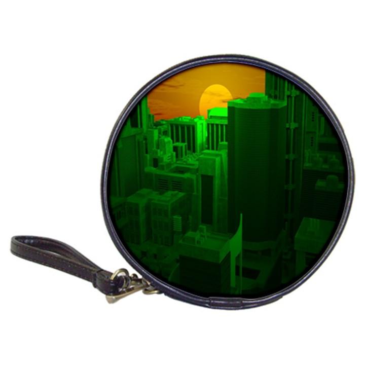 Green Building City Night Classic 20-CD Wallets