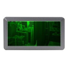 Green Building City Night Memory Card Reader (Mini)