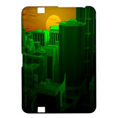 Green Building City Night Kindle Fire HD 8.9