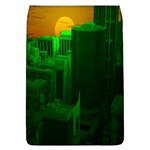Green Building City Night Flap Covers (S)  Front