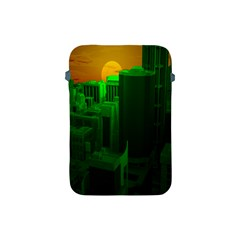Green Building City Night Apple iPad Mini Protective Soft Cases