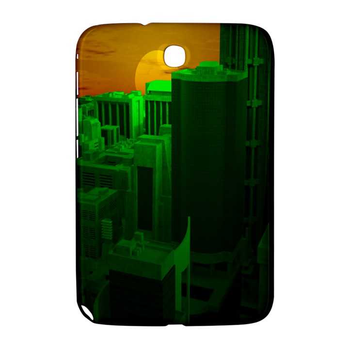 Green Building City Night Samsung Galaxy Note 8.0 N5100 Hardshell Case