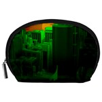 Green Building City Night Accessory Pouches (Large)  Front