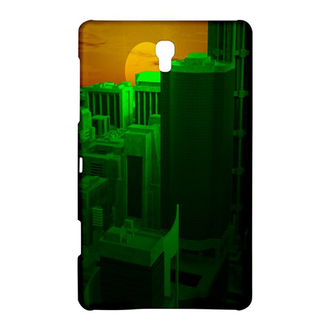 Green Building City Night Samsung Galaxy Tab S (8.4 ) Hardshell Case