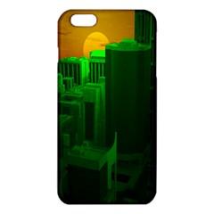 Green Building City Night iPhone 6 Plus/6S Plus TPU Case