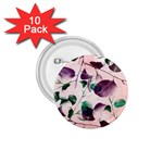 Spiral Eucalyptus Leaves 1.75  Buttons (10 pack) Front