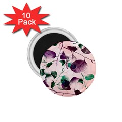 Spiral Eucalyptus Leaves 1.75  Magnets (10 pack)