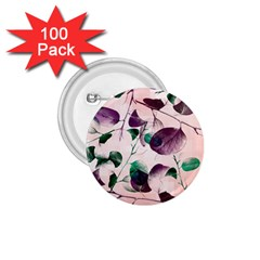 Spiral Eucalyptus Leaves 1.75  Buttons (100 pack)