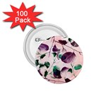 Spiral Eucalyptus Leaves 1.75  Buttons (100 pack)  Front