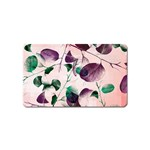 Spiral Eucalyptus Leaves Magnet (Name Card) Front