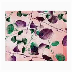 Spiral Eucalyptus Leaves Small Glasses Cloth