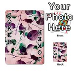 Spiral Eucalyptus Leaves Playing Cards 54 Designs  Front - Joker1