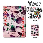 Spiral Eucalyptus Leaves Playing Cards 54 Designs  Front - Joker2
