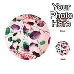 Spiral Eucalyptus Leaves Playing Cards 54 (Round)  Front - Joker2
