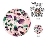 Spiral Eucalyptus Leaves Playing Cards 54 (Round)  Front - Spade8