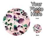 Spiral Eucalyptus Leaves Playing Cards 54 (Round)  Front - Spade10