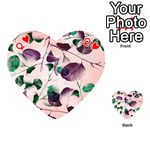 Spiral Eucalyptus Leaves Playing Cards 54 (Heart)  Front - HeartQ